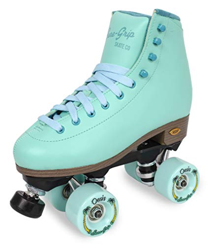Sure-Grip Blue Dream Oasis Outdoor Roller Skate (Size 5)