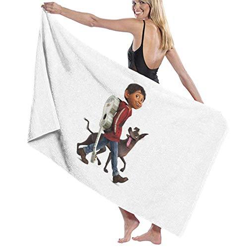 TV Show Coco Toalla de baño Portátil Ligero Súper Suave Toalla de baño Absorbente Adecuado para baño Piscina Playa SPA Toallas de baño