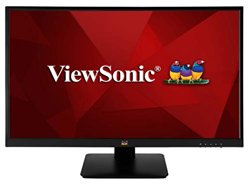 Viewsonic VA2410-MH 60 cm (24 Zoll) Monitor (Full-HD, IPS-Panel, HDMI, Lautsprecher) Schwarz