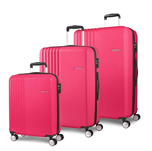 American Tourister Beachrider 3-Piece Suitcase Set 78 cm 99 L Pink