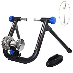 Unisky - Rodillo de entrenamiento de fluidos, para bicicleta, entrenamiento en interior, estable y portátil, con reducción de ruido
