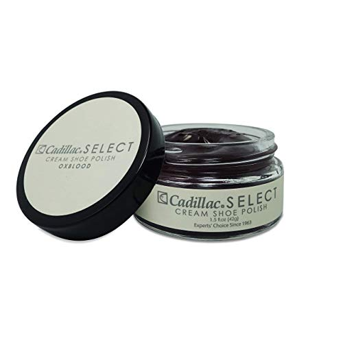 Cadillac Select Premium Cream Shoe Polish - Oxblood