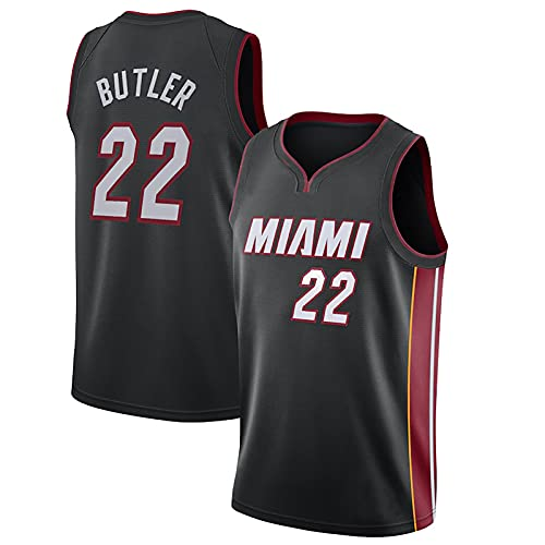LGLE – Camiseta de baloncesto para mujer para hombre, Majordome N ° 22, camiseta de verano, chaleco sin mangas, ropa deportiva transpirable, Negro , medium