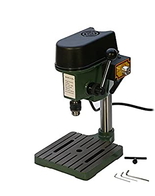 6.5 mm Mini Benchtop Drill Press Compact Drill Jewelry Making Hobby Bench Tool 3-Speed Max 8,500 RPM - DRL-300.00