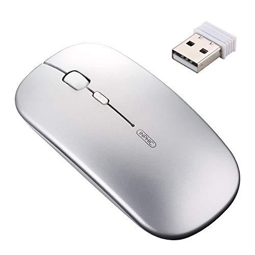 Mouse senza fili ricaricabile:Con batteria integrata ai polimeri di litio. Una volta caricata dura 2000ore. Facile da caricare tramite cavo micro USB.Circa 2 ore per ricarica completa. Per non utilizzare mai più le tradizionali batterie AA.Il mouse ...