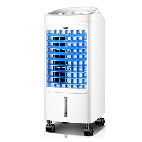 QJF-scales Mobiele airconditioner, luchtkoeler, met tank, touch-bediening, mobiel met 3 standen, voor slaapkamer, woonkamer, kantoor, reizen
