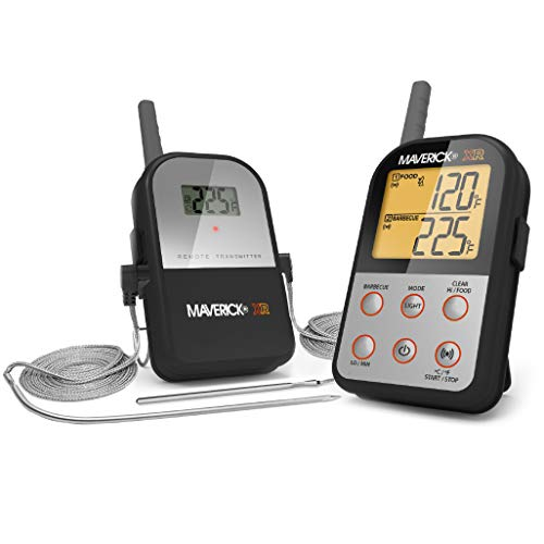 Maverick XR-30 Wireless Extended Range Digital Instant Read Cooking Kitchen Grilling Smoker BBQ Probe Meat Thermometer, Black