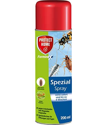 PROTECT HOME Forminex Spezial Spray gegen kriechendes + fliegendes Ungeziefer (ehem. Bayer Garten Blattanex), 200 ml