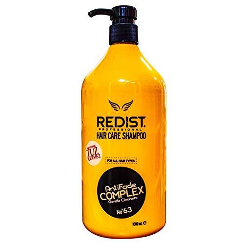Redist Hair Care Shampoo AntiFade Complex 1000ml Haarpflege Shampoo frei von Salz, Parabene , Silikon und SLS