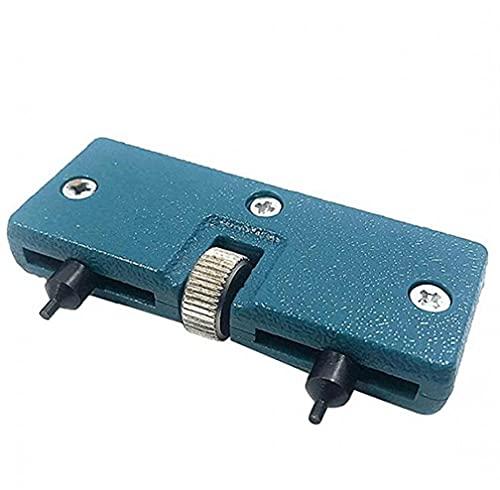 LjzlSxMF Uhr zurück Remover-Werkzeug-Uhr-Kasten-Öffner-Abdeckung drücken Closer Entfernen Schrauben-Schlüssel Einstellbare runde Uhr-Kasten-Öffner für Uhrmacher-