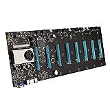 Jishu BTC-S37 Accesorios de minería Placa base CPU Set 8 PCIE...