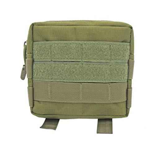 Multifuncional Bolsa de cintura táctica militar al aire libre Multifuncional EDC Molle herramienta con cremallera Paquete de la cintura de la cintura del accesorio Banda colgante Uso diario de deporte