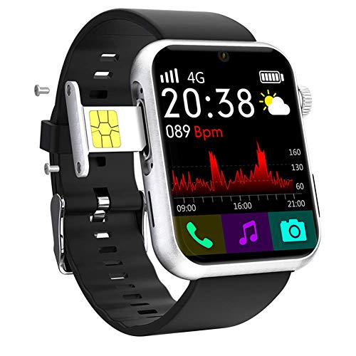 S888 4G Android 7.1 Smart Watch, OS 5.0MP Kamera MTK6739 Quad Core Fitness Tracker Wasserdicht WiFi GPS Fitnessuhr