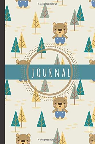 """Teddy Bear Journal: Teddy Bear Notebook: Cute Teddy Bear Notebook Journal To Write In - Bear Gifts For Bear Lovers Kids Boys Girls Men Women Teens: ... 120 Pages 6"""" x 9"""" (Journals & Notebooks)"""