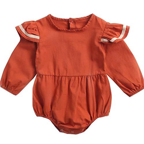 CCIIO Traje de una pieza de bebé de manga larga azul marino bodys triángulo gatear ropa mamelucos