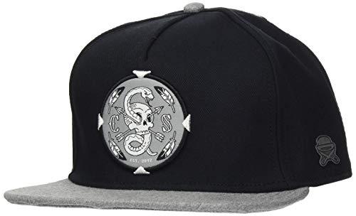 Cayler und Sons Unisex CundS CL Native Shield Cap Baseballkappe, Black/Heather Grey, one Size