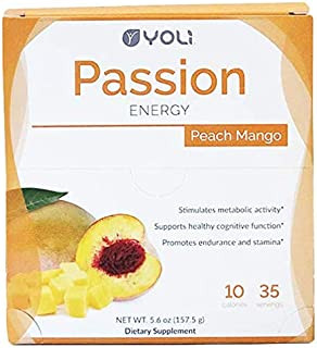 Yoli Passion - Peach Mango Box of Packets