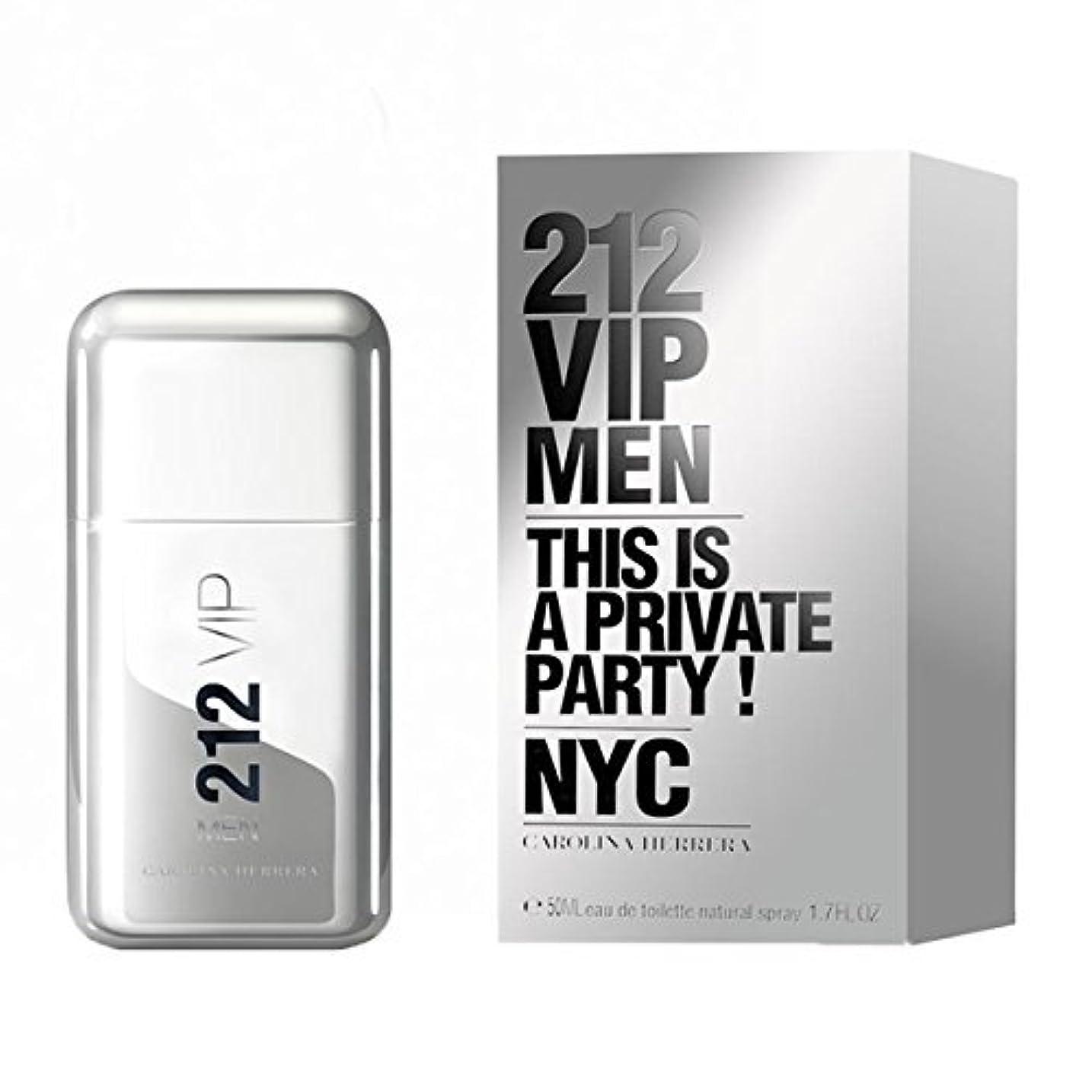 険しいアベニュー値する【キャロライナヘレラ】212 VIP メン EDT?SP 50ml (並行輸入品)