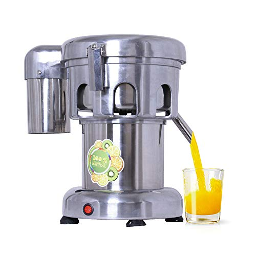 Commercial Juice Extractor, 110V Heavy Duty Centrifugal Juicer Machine Electric Stainless Steel Whole Vegetable & Fruit Juice Maker Squeezer ( 80 - 100 kg/hr Juice Amount )