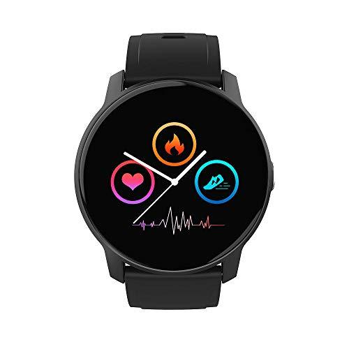 LKXL Handgelenk Smart Armband runden Bildschirm Herzfrequenz Blutdruck Oximeter Schritt Sport Armband
