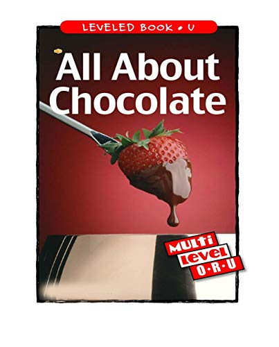All About Chocolate: Children's Picture Book (English Edition)