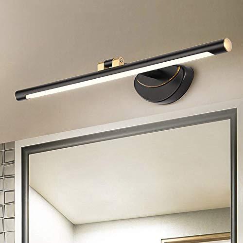 Gyubay Lámpara de Espejo Luz del Espejo Nórdica LED con La Luz del Gabinete Sencilla Espejo Giratorio For El Espejo del Baño Tocador Luz Marco De La Vanidad Faros de Espejo de baño