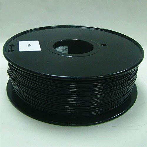 Fucaiqian CCH-YS Materials, 1pc 3d Printer Filament ASA Plastic Rubber Consumables Material fit for MakerBot/RepRap/UP/Mendel (Color : ASA 1.75 Black)