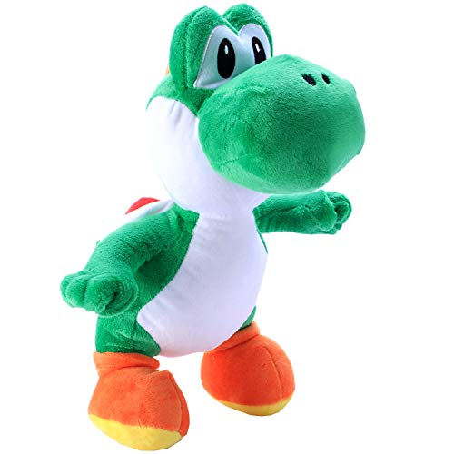"Toydaze Yoshi Plush Toy Super Mario Stuffed Collection, 12"", Green"