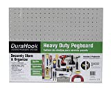 Triton Products (018) DuraBoard 2) 22 In. W x 18 In. H x 1/8 In. D White Polypropylene Pegboards with 3/16 In. Hole Size