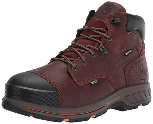 Timberland PRO mens Helix HD 6' Composite Safety Toe Waterproof Met Guard Tempest Rancher Brown 11 wide US