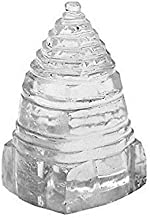 Style OK Sphatik Shri Yantra Pyramid Crystal Pyramid Shree Yantra 54 Gram