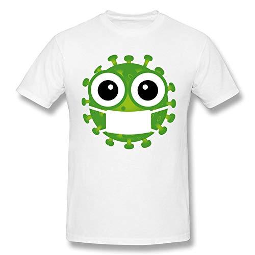Preisvergleich Produktbild Klasse von 2020 Wenn Sh t Got Echt COVID-19 Corona Adult Neutral Kurzarm T-Shirt (Color : White,  Size : XXL)
