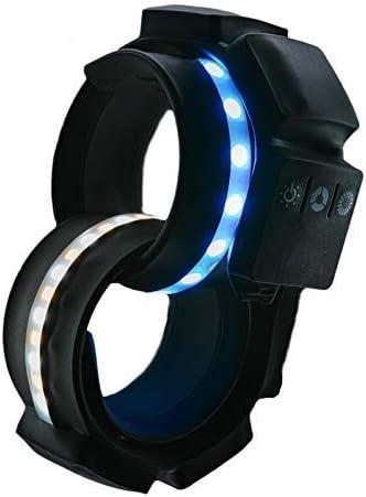 LightAround 55% OFF Bi-Color Light Bracelet Selfie Ring for online shopping –