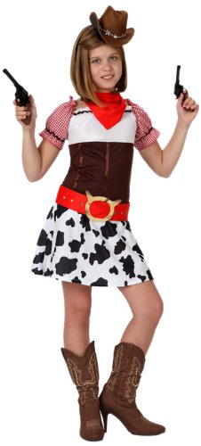 Atosa - 15974 - Costume - Déguisement Cow Girl Fille - Taille 3