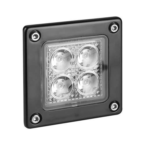 Faro de trabajo LED, luz de marcha atrás, empotrable, certificado ECE-R23.