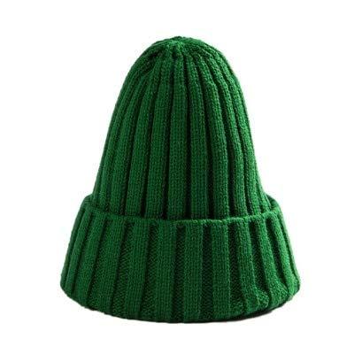IMmps Hut Frauen Unisex Baumwollmischung Feste warme weiche Hip-Hop-Strickmütze Männer Wintermütze Frauen - 03 X Vereinigte Staaten X One Size