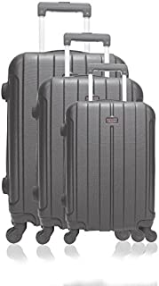 Hero Luggage Set, Black (Noir), 69 cm