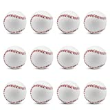 野球 硬式ボール 練習球 野球 練習球 バッティング練習 キャッチボール トスバッティング マシン対応 【12個入り/1個入り】 (12)