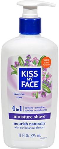 Kiss My Face Moisture Shave Lavender Shea 11 oz product image