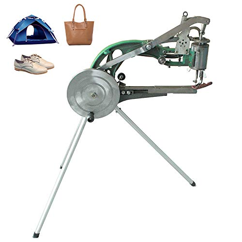 Shoe Repair Hand Sewing Machine, Shoe Cobbler Machine with Nylon Line, Manual Mending for Shoes/Bags/Clothes/Quilts/Coats/Trousers