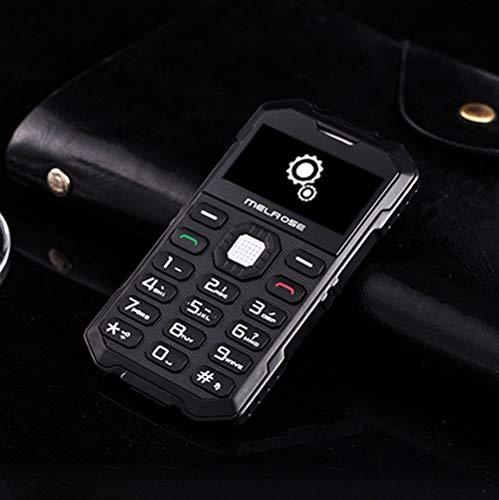 NMYANXU Melrose S2, Tarjeta de Prueba Triple, teléfono móvil, a Prueba de Polvo, a Prueba de Golpes, Resistente a los Golpes, MTK6260DA, 21 Teclas, Bluetooth, FM, cámara de 0.3MP, gsm (Verde Militar)