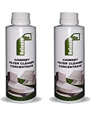 Release On Kitchen Chimney Filter Cleaner Concentrate Liquid with Brush - 250 ml (Pack of 2)