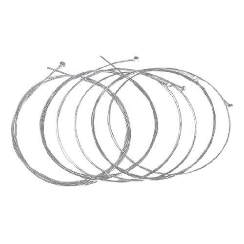 6stuks eléctrica akoest ische Gitaar snaren vervangend onderdeel Silver Tone