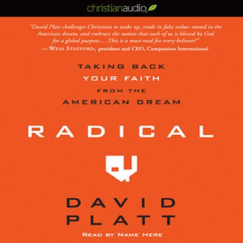 Radical audiobook cover art