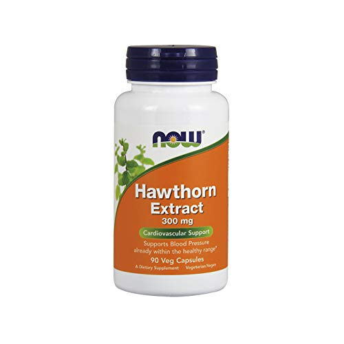 NOW Supplements, Hawthorn Extract 300 mg, Cardiovascular Support*, 90 Veg Capsules