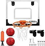Dreamon Mini Canasta Baloncesto Exterior Pared Infantil, Habitación Aro Baloncesto para Niños Deporte Interior Juguetes