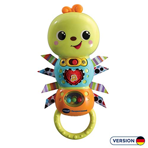 Vtech 80-527804 Raupenrassel Babyspielzeug