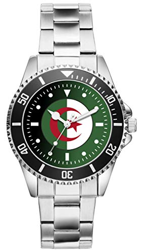 KIESENBERG Uhr - Algerien Algier Air Force Luftwaffe Geschenk Artikel Fan 20899