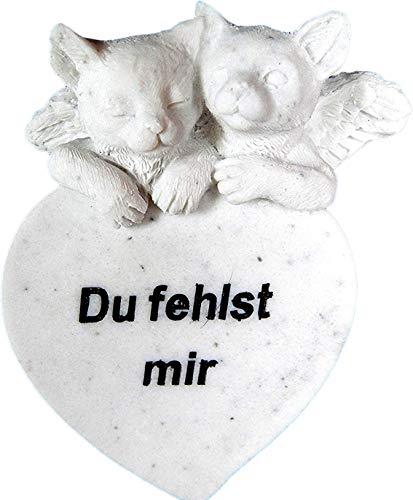 MT Gedenkstein Katze \'Du fehlst Mir\'