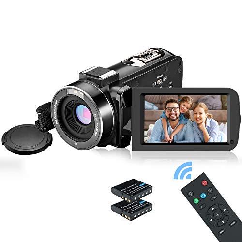 MELCAM Video Camera Camcorder 1080P IR Night Vision Digital Camera with 3.0...